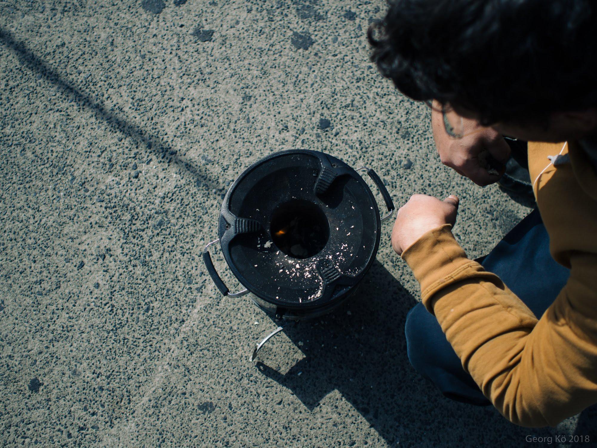 Kochen auf der Straße